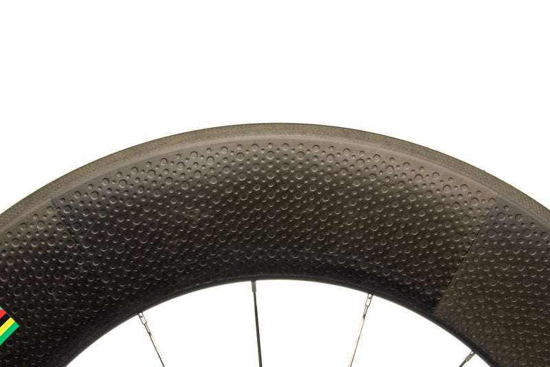 Zipp 1080 Carbon Tubular 700c Front Wheel cockpit