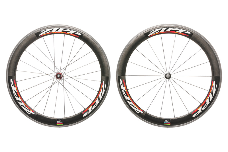 Zipp 404 Carbon Clincher 700c Wheelset drive side