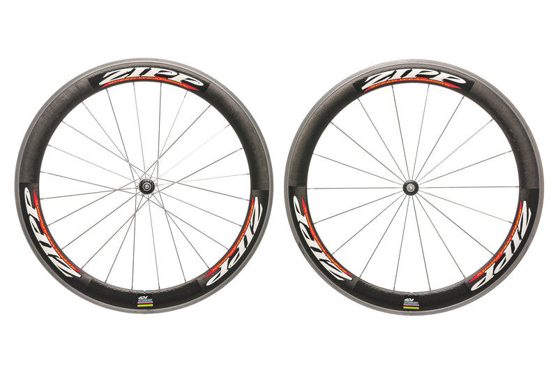 Zipp 404 Carbon Clincher 700c Wheelset non-drive side