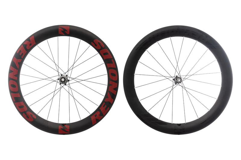 Reynolds 65 Aero Disc Carbon Clincher 700c Wheelset drive side