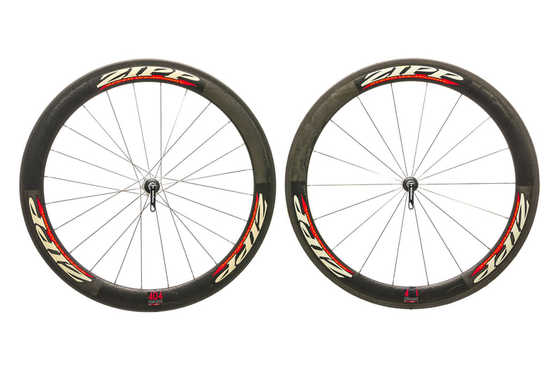Zipp 404 Carbon Tubular 700c Wheelset non-drive side
