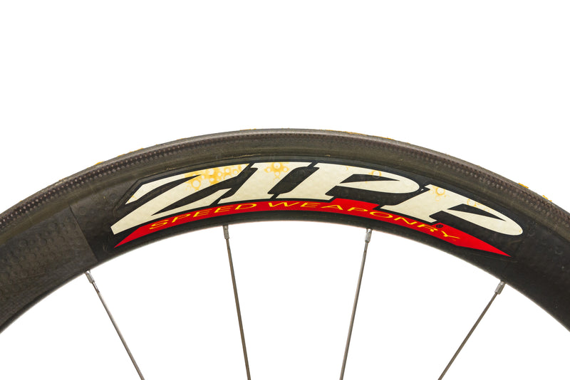 Zipp 404 Carbon Tubular 700c Wheelset detail 1