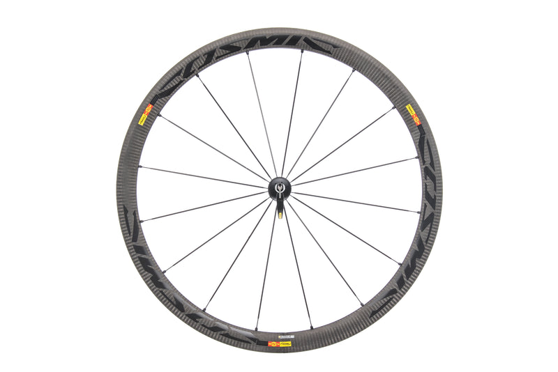 Mavic Cosmic Carbone 40 Carbon Clincher 700c Front Wheel non-drive side