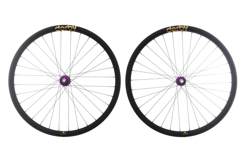 Derby CX 23i Carbon Tubeless 700c Wheelset non-drive side