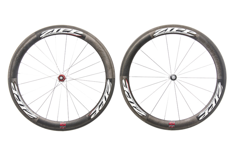 Zipp 404 Carbon Tubular Wheelset drive side