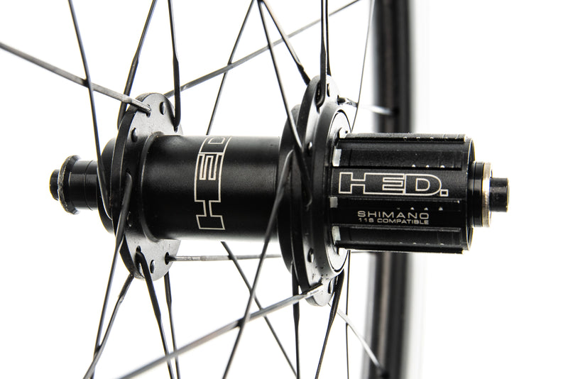 HED Jet 6/9 Plus Carbon Tubeless 700c Wheelset sticker