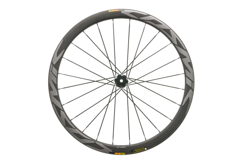 Mavic Cosmic Pro Carbon SL C Disc Clincher 700c Front Wheel non-drive side