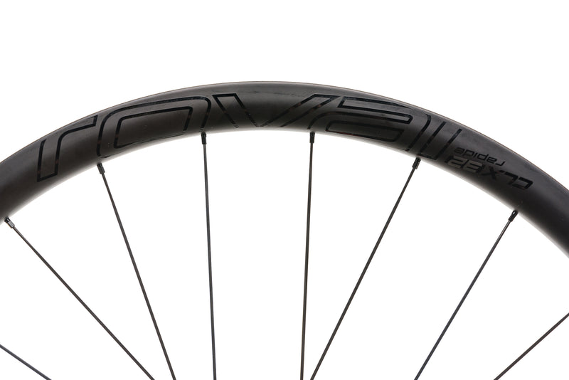 Roval CLX 32 Rapide Carbon Tubeless 700c Rear Wheel front wheel