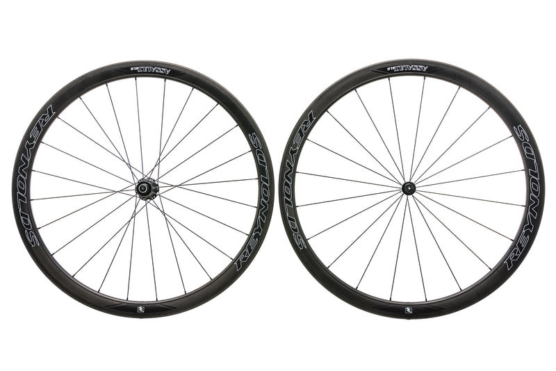 Reynolds Assault SLG Carbon Clincher 700c Wheelset non-drive side