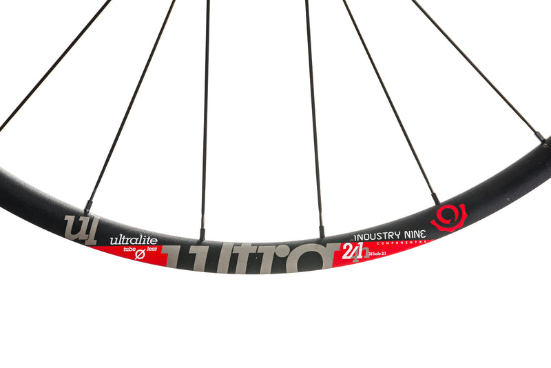 Industry Nine Ultralite Aluminum Tubeless 700c Wheelset cockpit