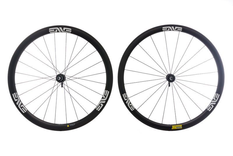 ENVE SES 3.4 Carbon Tubeless 700c Wheelset drive side