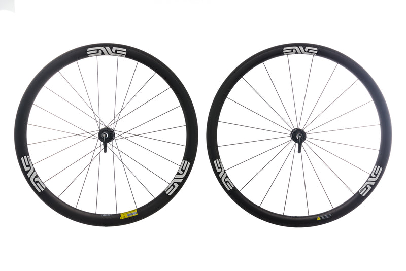 ENVE SES 3.4 Carbon Tubeless 700c Wheelset non-drive side