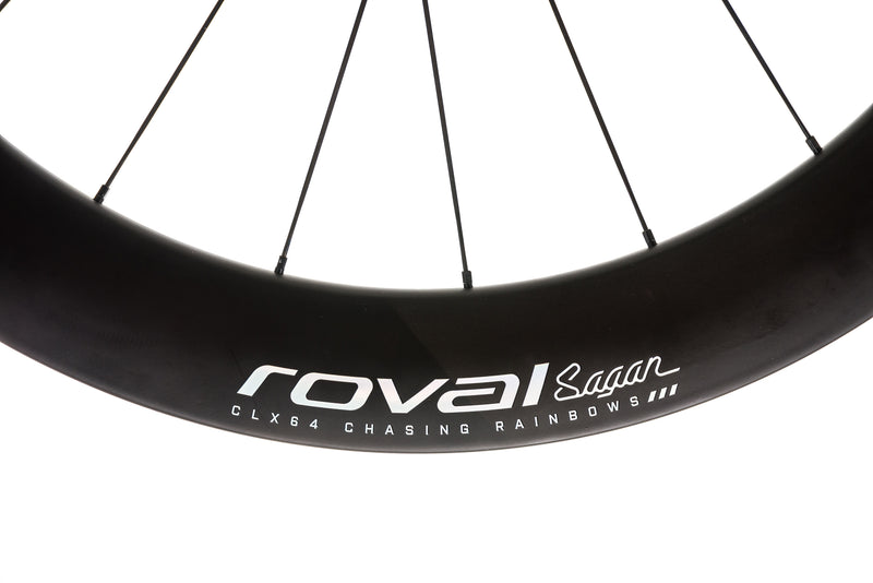 Roval CLX 64 Sagan Edition Carbon Tubeless 700c Wheelset cockpit