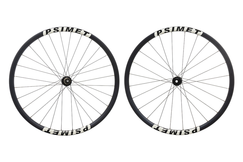 PSIMET 28mm Disc Aluminum Tubeless 700c Wheelset drive side