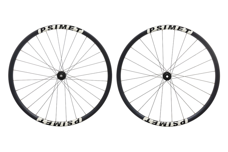 PSIMET 28mm Disc Aluminum Tubeless 700c Wheelset non-drive side