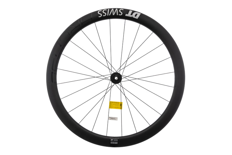DT Swiss ARC 1450 DICUT DB48 Carbon Clincher Front Wheel non-drive side