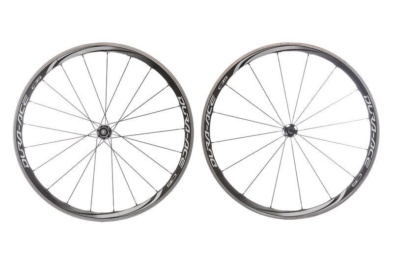 Shimano Dura Ace WH-9000 C35 Carbon Clincher 700c Wheelset drive side