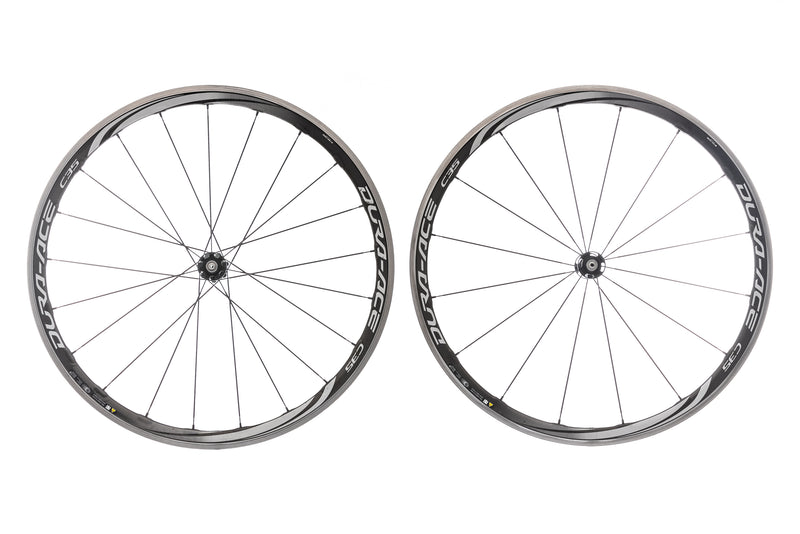 Shimano Dura Ace WH-9000 C35 Carbon Clincher 700c Wheelset non-drive side