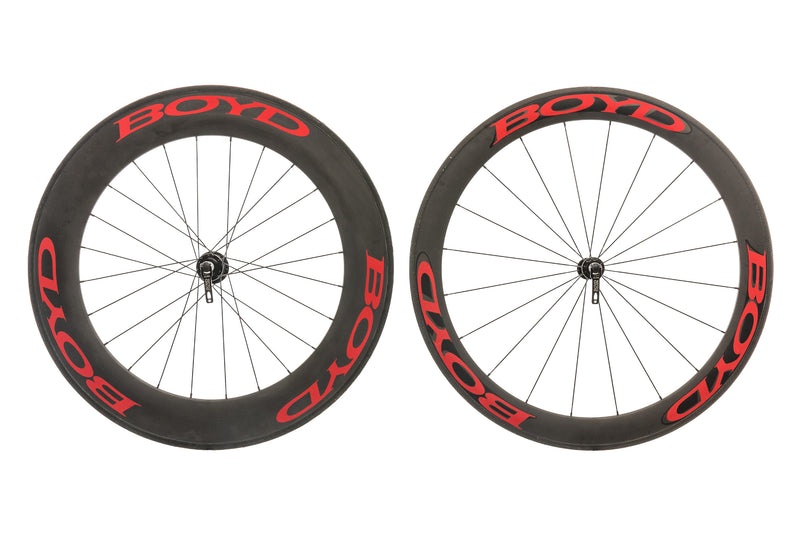 Boyd Cycling 60/90mm Carbon Tubular 700c Wheelset non-drive side