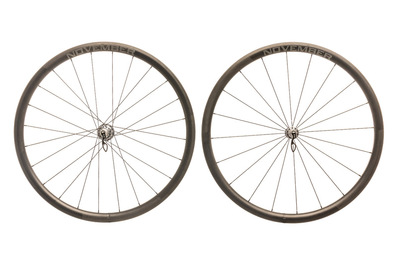 November Rail 34 Carbon Clincher 700c Wheelset non-drive side