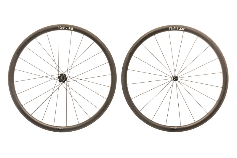 DT Swiss PRC 1450 Spline 35 Carbon Clincher 700c Wheelset drive side