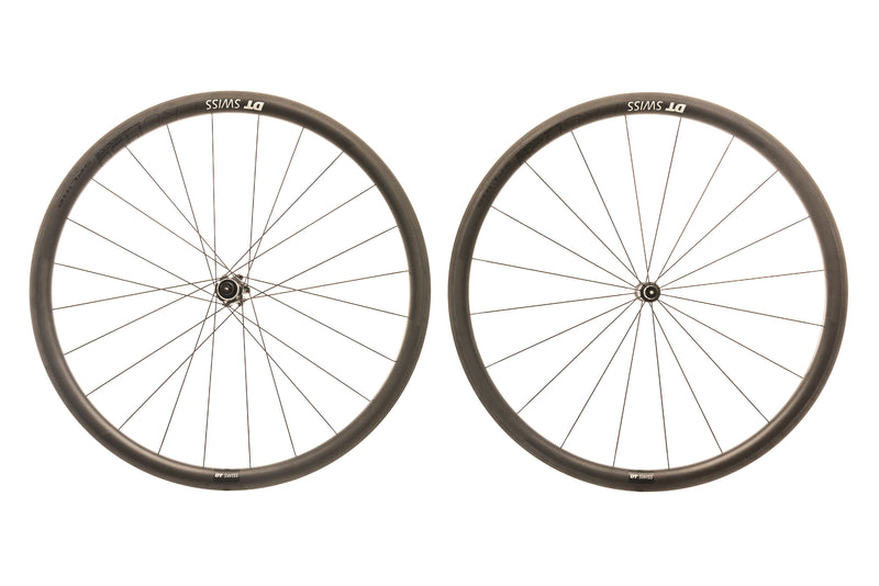 DT Swiss PRC 1450 Spline 35 Carbon Clincher 700c Wheelset non-drive side