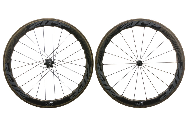 Zipp 454 NSW Carbon Clincher 700c Wheelset non-drive side