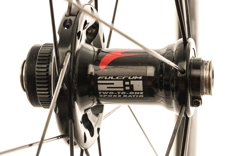 Fulcrum Racing Quattro DB Carbon Clincher 700c Wheelset sticker