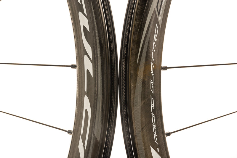 Fulcrum Racing Quattro DB Carbon Clincher 700c Wheelset front wheel
