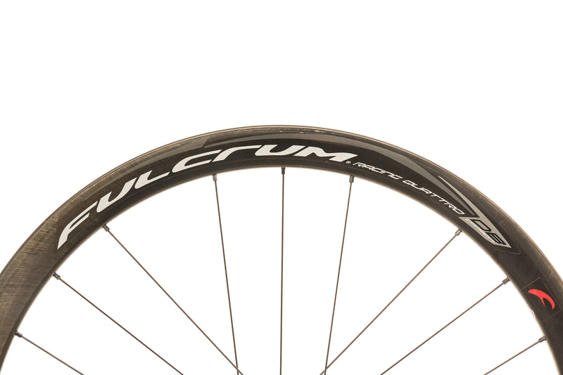 Fulcrum Racing Quattro DB Carbon Clincher 700c Wheelset cockpit