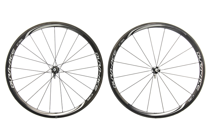 Shimano Dura-Ace C35 Carbon Tubular 700c Wheelset drive side