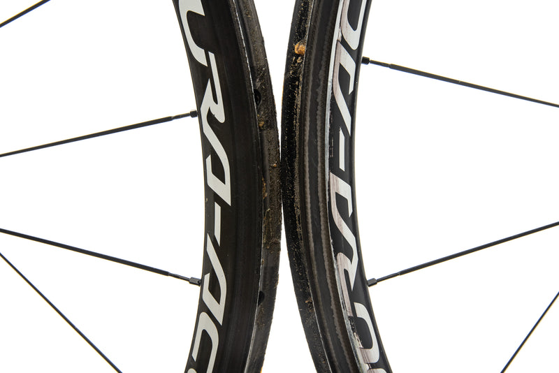 Shimano Dura-Ace C35 Carbon Tubular 700c Wheelset front wheel