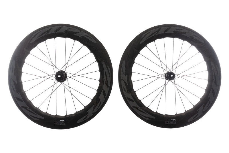 Zipp 858 NSW Disc Carbon Clincher 700c Wheelset non-drive side