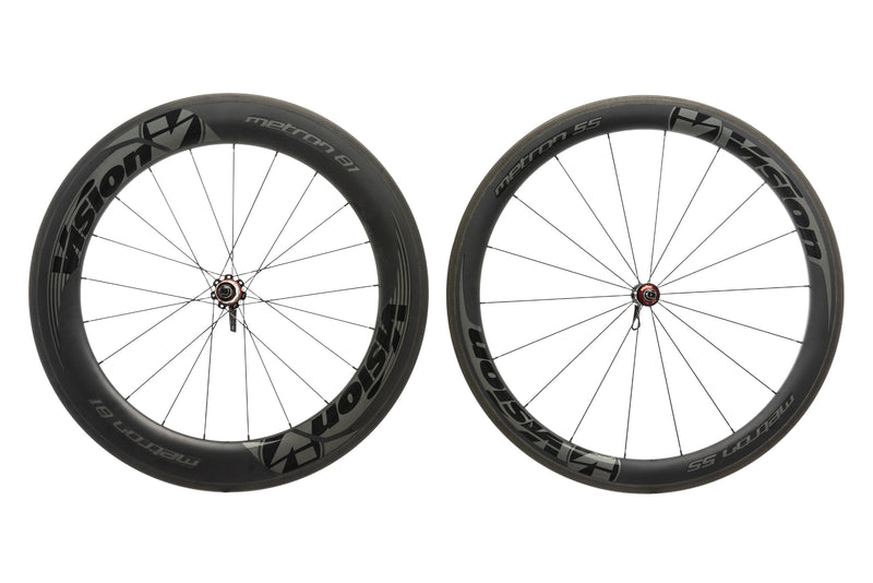 Vision Metron 55/81 Carbon Clincher 700c Wheelset drive side