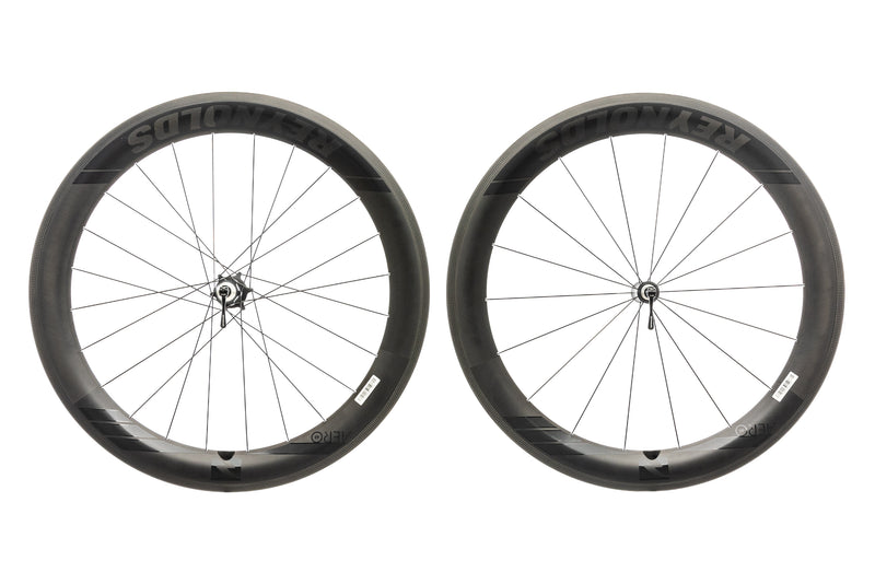Reynolds Blacklabel Aero 65 Carbon Tubeless 700c Wheelset non-drive side