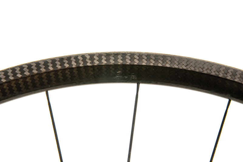 Tune Skyline Carbon Tubular 700c Wheelset cockpit