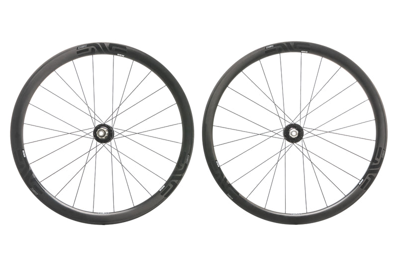 ENVE SES 3.4 Disc Carbon Clincher 700c Wheelset drive side