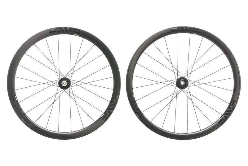 ENVE SES 3.4 Disc Carbon Clincher 700c Wheelset non-drive side