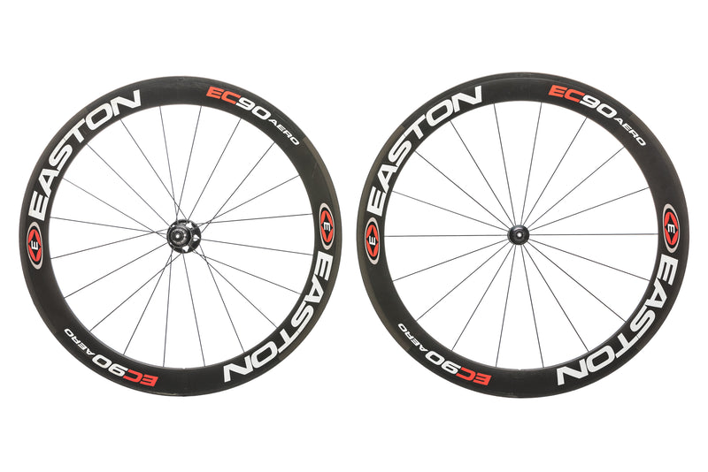 Easton EC90 Aero Carbon Tubular 700c Wheelset non-drive side