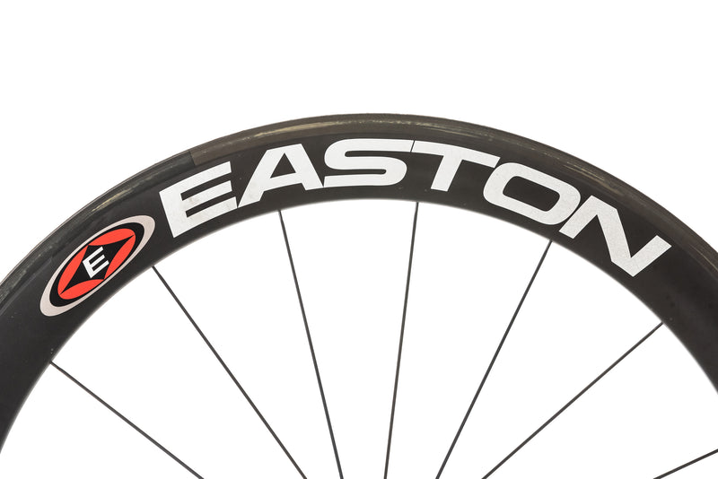 Easton EC90 Aero Carbon Tubular 700c Wheelset cockpit