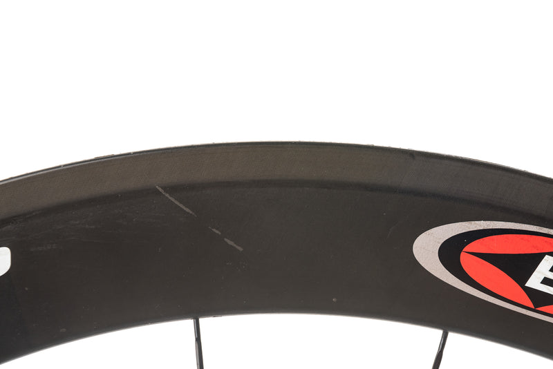 Easton EC90 Aero Carbon Tubular 700c Wheelset detail 1