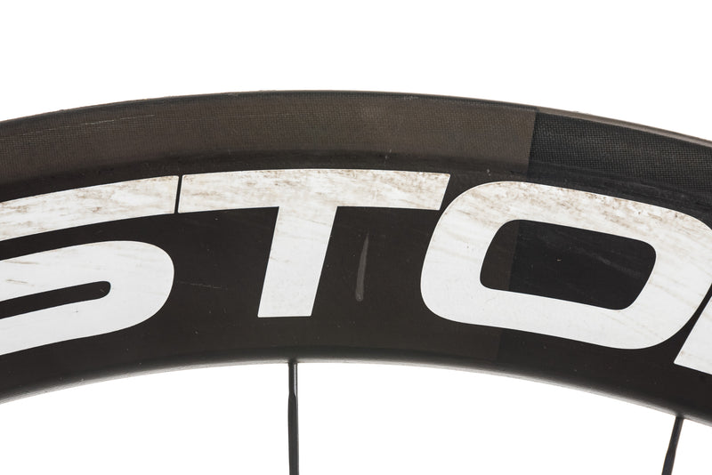 Easton EC90 Aero Carbon Tubular 700c Wheelset detail 2