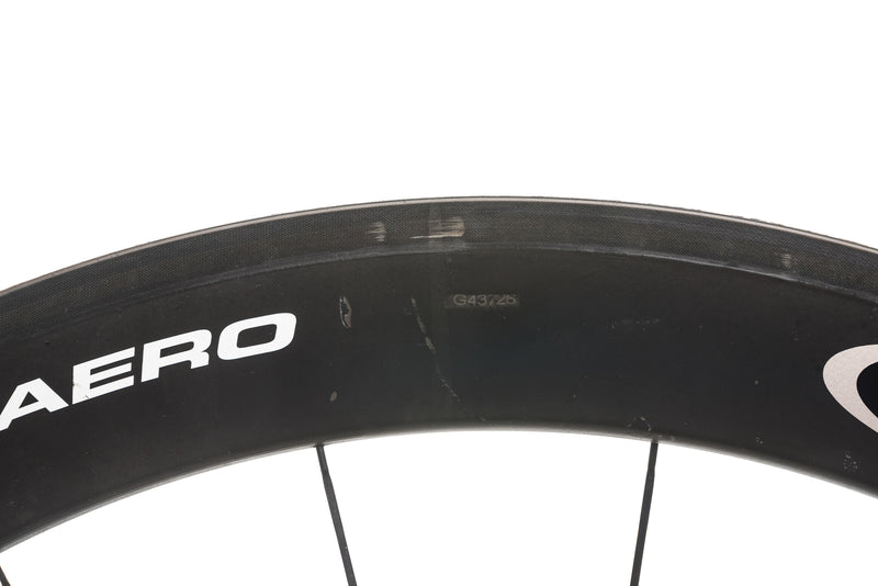 Easton EC90 Aero Carbon Tubular 700c Wheelset detail 3