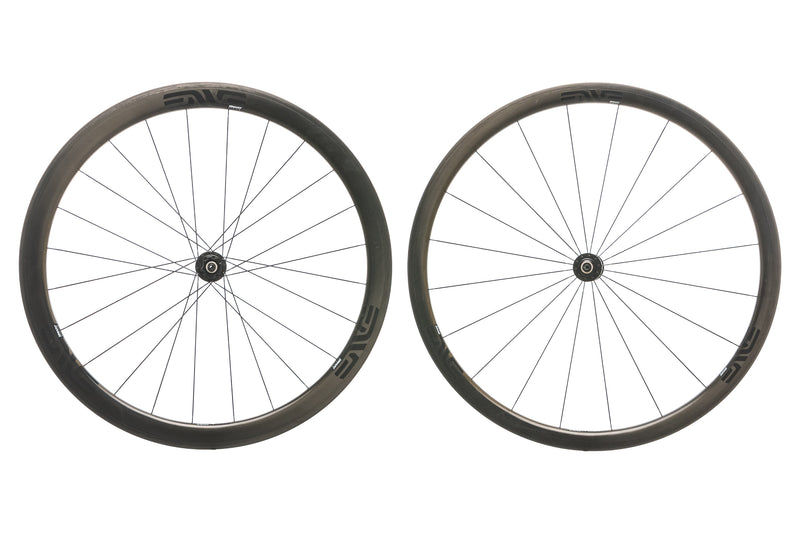 ENVE SES 3.4 Carbon Clincher 700c Wheelset drive side
