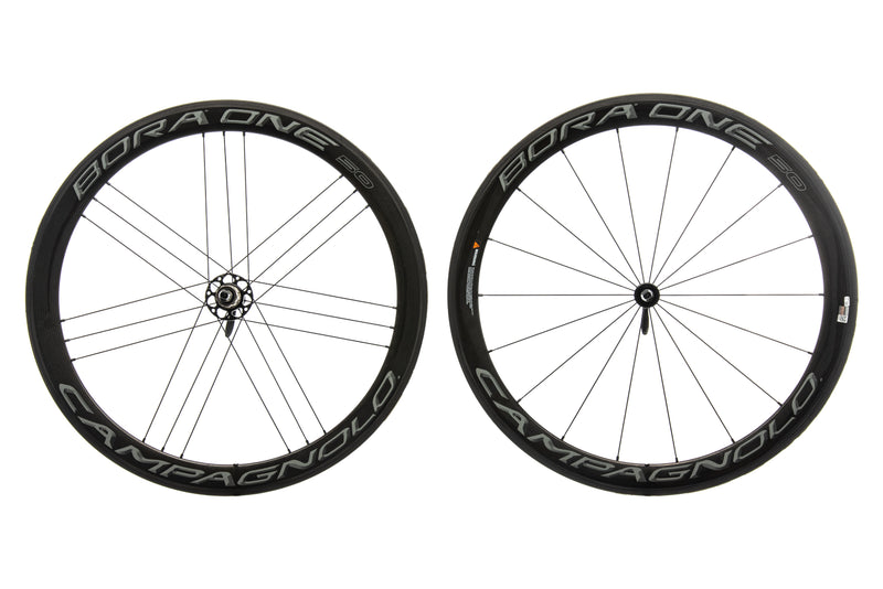 Campagnolo Bora One 50 Carbon Tubular 700c Wheelset drive side
