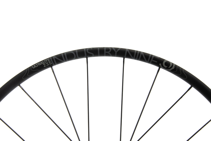Industry Nine Ultralite 235 TRA Alloy Tubeless 700c Wheelset cockpit