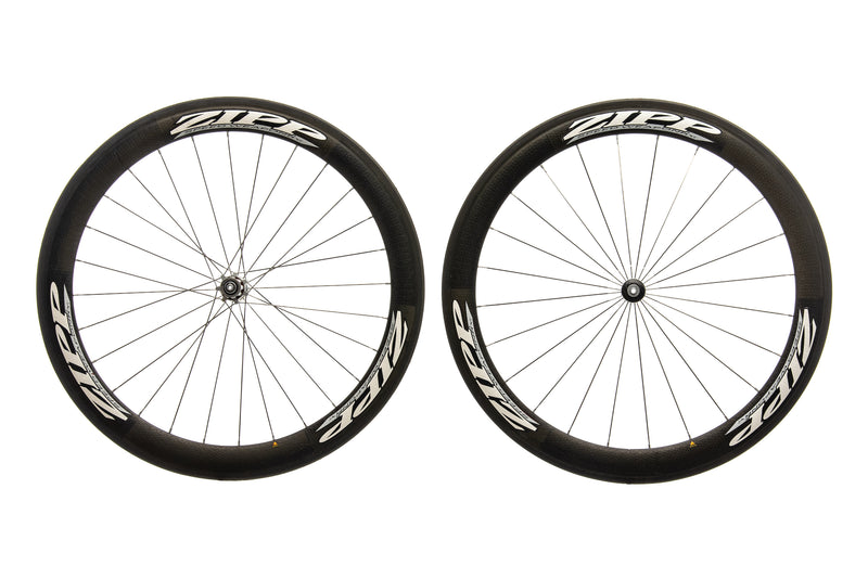 Zipp 404 Carbon Tubular 700c Wheelset drive side