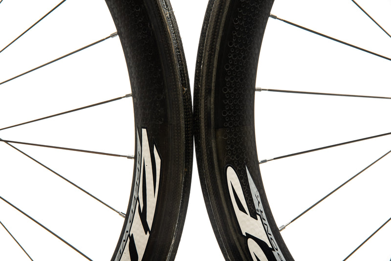 Zipp 404 Carbon Tubular 700c Wheelset front wheel