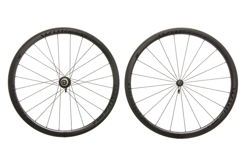 Williams System 38 Carbon Clincher 700c Wheelset drive side