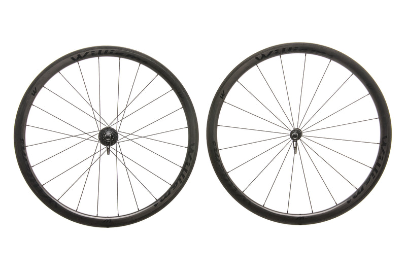 Williams System 38 Carbon Clincher 700c Wheelset non-drive side
